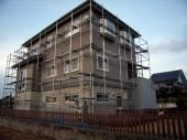 一般住宅外壁塗装 仮設足場工事